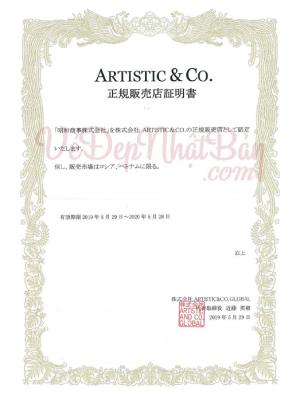 giấy chứng nhận đại lý chính hãng